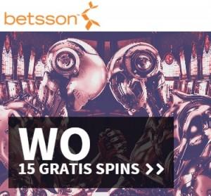 15 gratis spins als Betsson Casino Treat