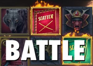 Battle - de Rode en Groene Warlord strijden tegen elkaar