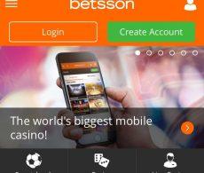 Betsson mobiel casino is de grootste ter wereld