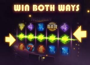 Bij Starburst kun je op twee manieren winnen