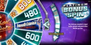 Bonus game Michael Jackson King of Pop videoslot