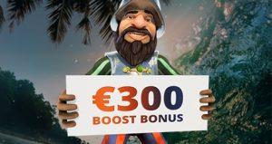 Boost Bonus bij Oranje Casino
