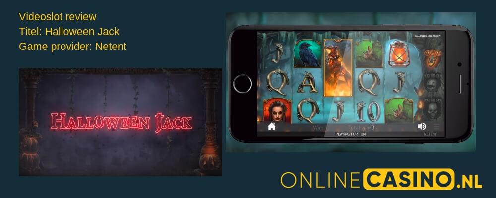 CasinoOnline.nl NetEnt Halloween Jack videoslot review