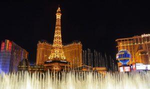 Casinostad Las Vegas by night