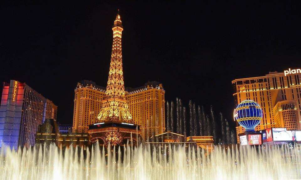 Las Vegas by night onlinecasino.nl