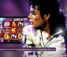De nieuwe videoslot Michael Jackson™ King of Pop gaat samen met een actie