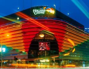 De vestiging van Holland Casino in Scheveningen