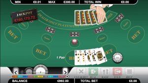 Een Caribbean Poker tafel
