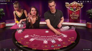 Een impressie van Blackjack Party bij CasinoEuro
