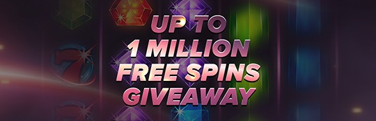 Free Spin Give Away actie