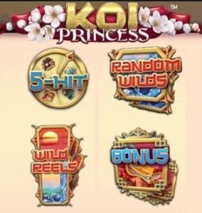 Enkele features uit nieuw spel Koi Princess