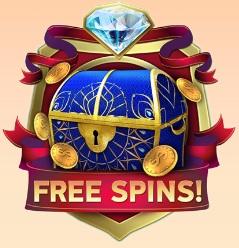 De free spins functie