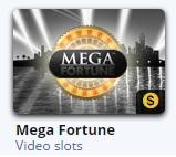 Gratis Mega Fortune vind je in het gratis casino van Betsson