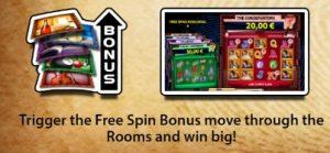 Gratis spins-bonus