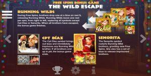 Gratis spins bonusspel van kerstvideoslot Taco Brothers