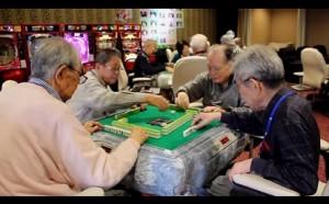 Japanse bejaarden in dagopvang-casino