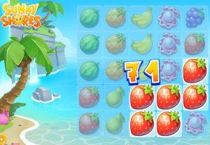 Je kunt Sunny Shores gratis spelen
