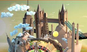 Je kunt bij Oranje Casino een city trip winnen bij live roulette Around the World