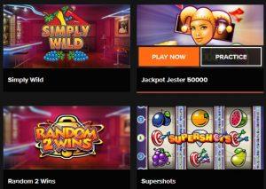 Je kunt veel online casino spellen gratis spelen