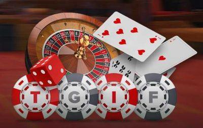 Kom langs en claim de TGIF bonus van Kroon Casino