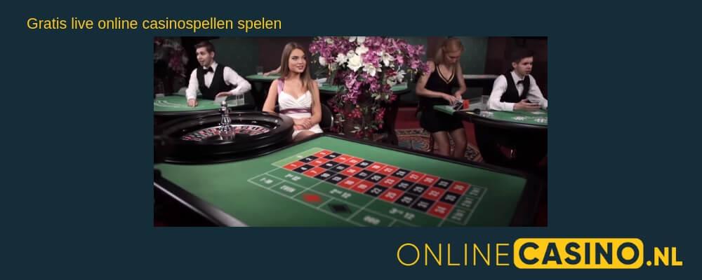 Live online casinospellen