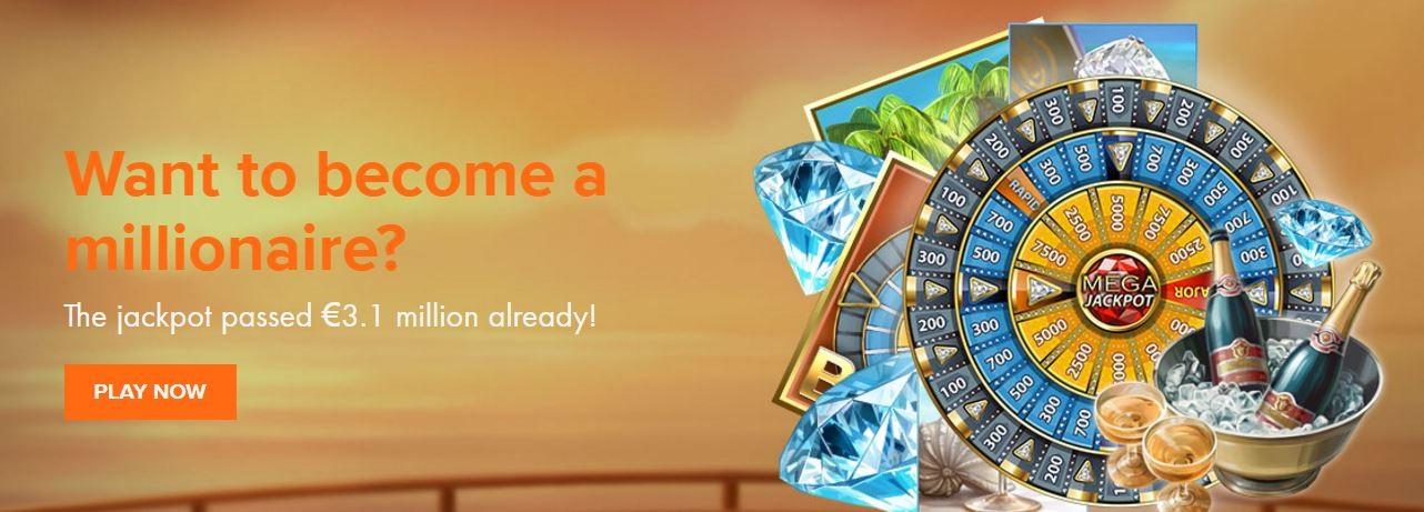 Kroon Casino's Mega Fortune Dreams jackpot super hoog