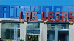 Las Vegas nagebouwd met Lego door Nederlander