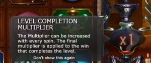 Level Completion Multiplier