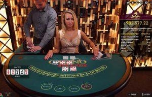 Live Casino Hold'em lijkt veel op Texas Hold'em Poker