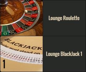 Lounge Roulette en Lounge Blackjack zijn twee live VIP tafels