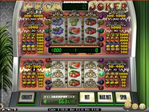 Mega Joker is een van de videoslots met jackpots
