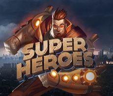 Nieuw spel Super Heroes met gratis spins