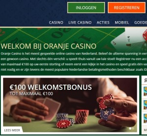 Nieuwe website Oranje Casino