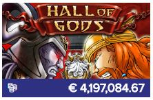 Nog een van de populaire casinospellen is Hall of Gods