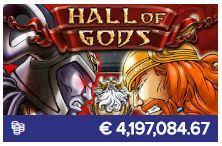 Nog een van de populaire casinospellen is Hall of Gods