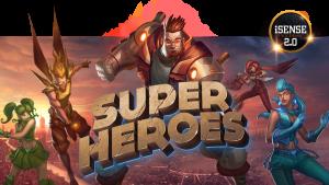 Online videoslot Super Heroes van Yggdrasil