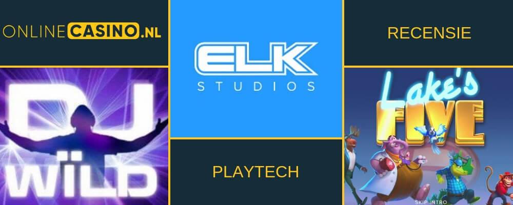 Gameprovider videoslot: Elk Studios