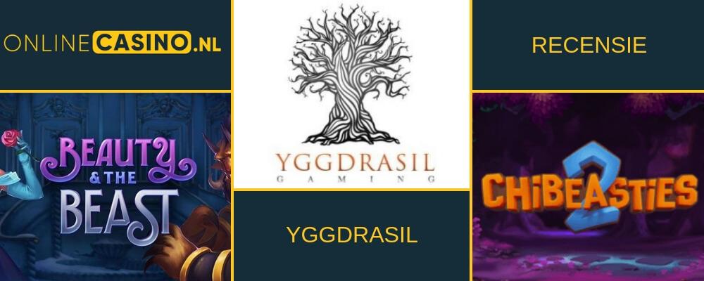 Gameprovider en videoslotmaker: Yggdrasil