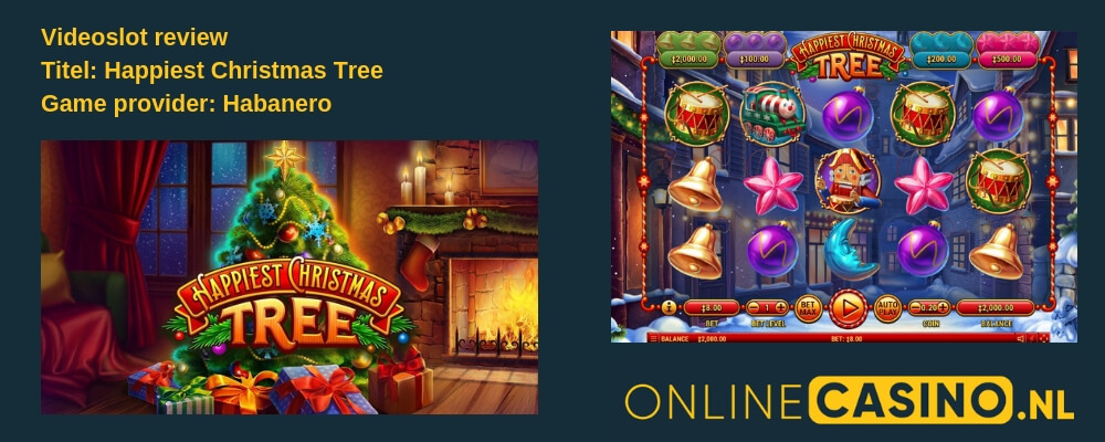 Videoslot review: Happiest Christmas Tree