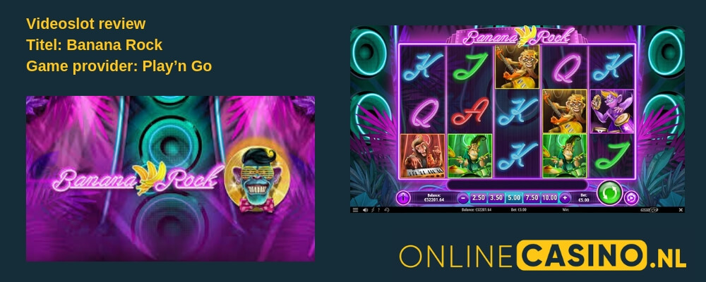 Onlinecasino.nl gamereview Playn Go Banana Rock