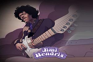 Ontdek Jimi Hendrix in zijn eigen videoslot