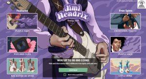 Ontdek alle functies van videoslot Jimi Hendrix