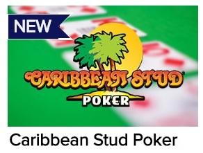 Ontdek de andere live speeltafels, met bijvoorbeeld Caribbean Stud Poker