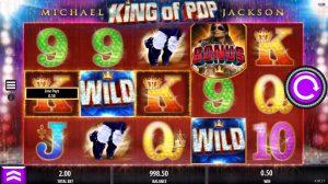 Ontdek de videoslot Michael Jackson King of Pop
