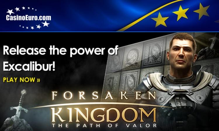Ontdek je innerlijke kracht met Forsaken Kingdom bij CasinoEuro