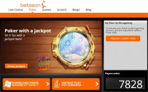 Ontdek online poker bij Betsson