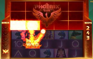 Phoenix Sun in actie