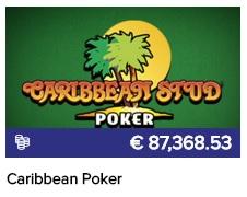 Probeer gratis Caribbean Stud Poker in het gratis CasinoEuro