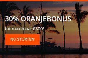 Profiteer tot en met vrijdag van de online Oranje Casino bonus