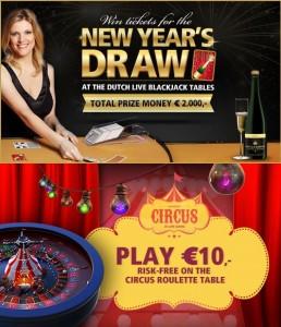 Profiteer van alle Oudejaarsacties bij Oranje Casino